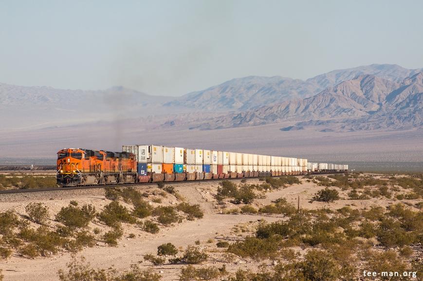 BNSF 8041, Klondike (CA) 26-5-2014