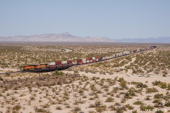 BNSF 7515, Needles (CA) 27-5-2014