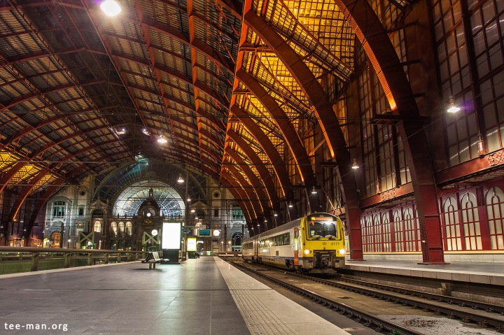 Ready for the trip to Mol. B 4171, Antwerp-Central, 12.10.2015