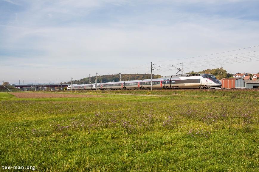 SNCF's 549, on its way to Strasbourg. Wilwisheim, 24.10.2015.